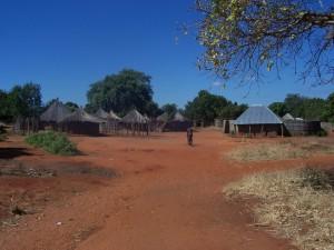 Afrikanisches Dorf