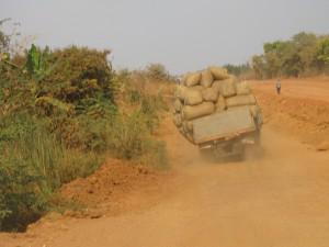 LKW überladen Sambia